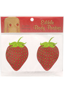 Edible Body Pasties Succulent Strawberry
