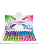 Power Bullet Breeze Waterproof Assorted Colors 24 Per...