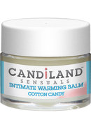 Candiland Sensuals Intimate Warming Balm Cotton Candy .25...